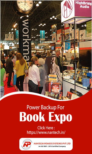 People Gathering For A Book Expo Having Book Stalls Showcasing Various Collection of Books.
